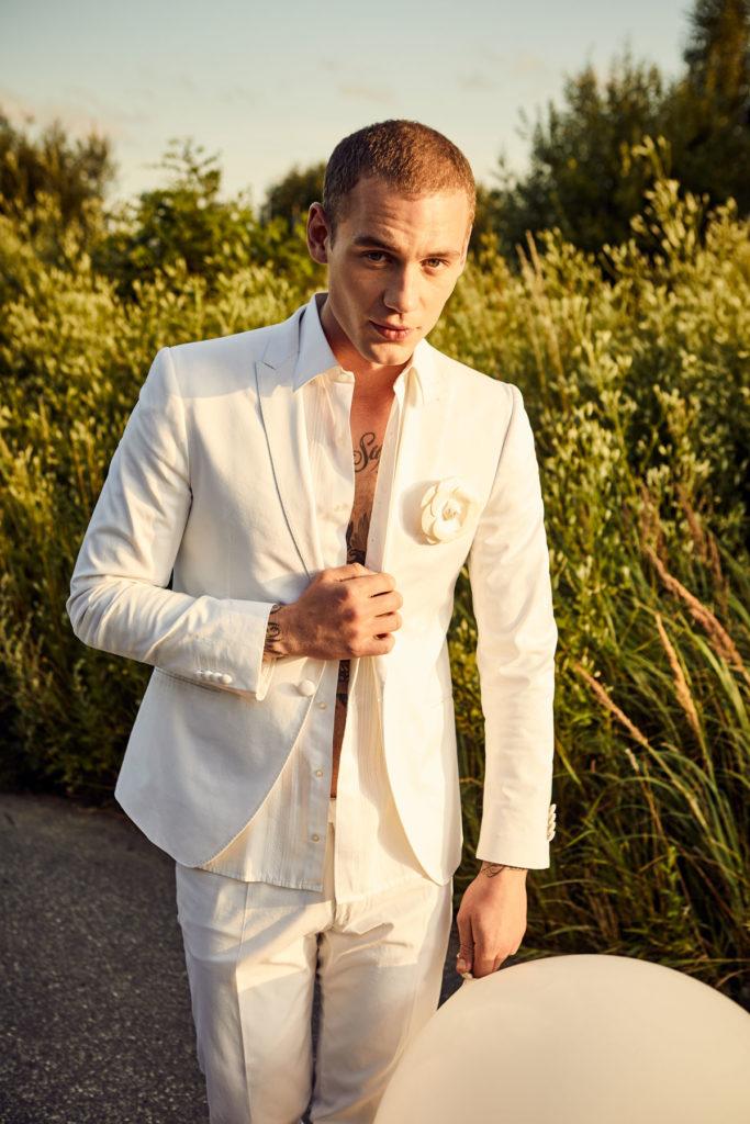Mercedes Burmester Hochzeit Portrait Male Model