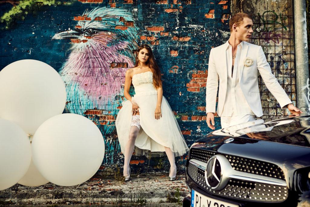 Mercedes Burmester Hochzeit Werbung