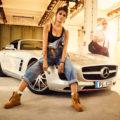 Mercedes Burmester Werkstatt Autofotografie