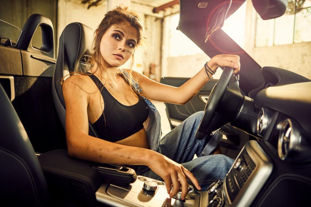 Mercedes Burmester Werkstatt Autofotografie Werbung I