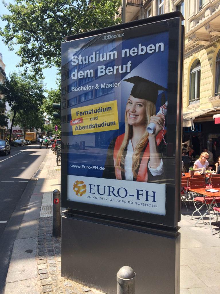 Euro FH Kampagnenmotiv City light