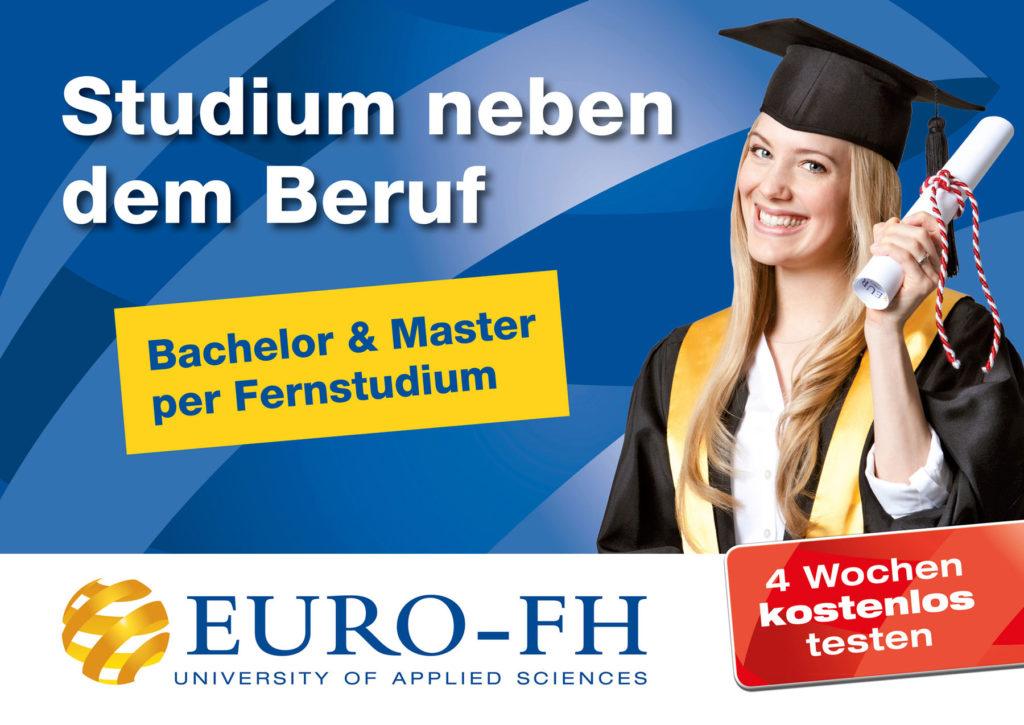 Euro FH Kampagnenmotiv Fernstudium