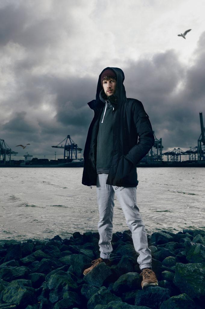 Jomo Hip Hop Portrait Hafen Hamburg Musikerportrait I