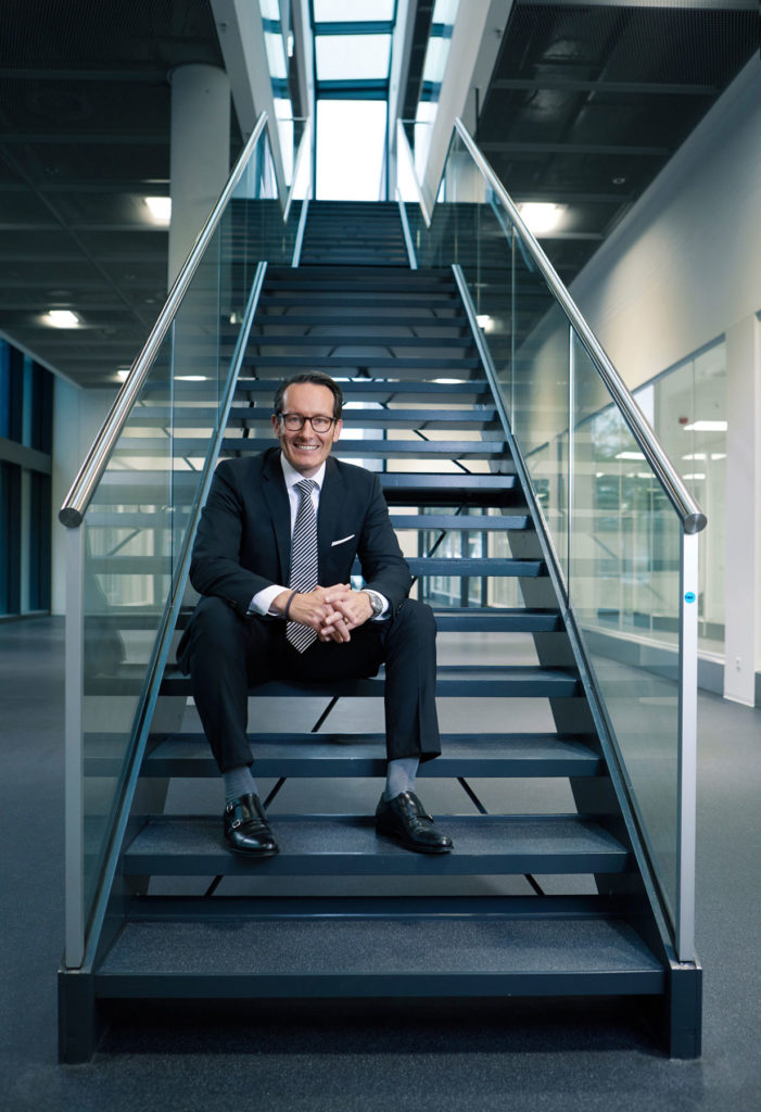 Managerportrait Marco Linari CEO Allergopharma