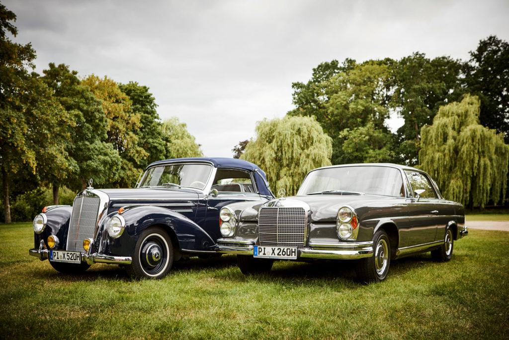 Mercedes Burmester Oldtimer Autofotografie