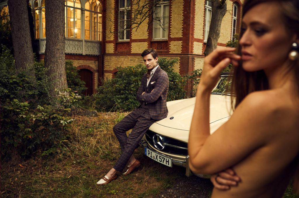 Mercedes Burmester Oldtimer Werbekampagne