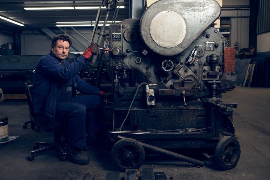 Mitarbeiterfoto für Metallbau