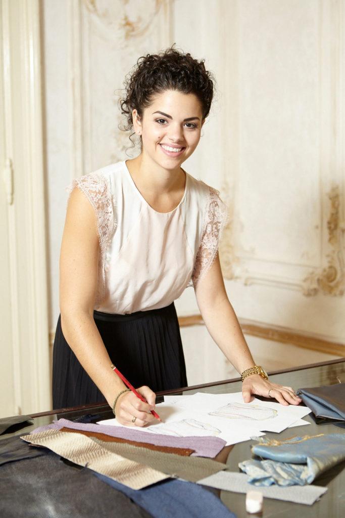 Modedesignerin Portrait Homepage
