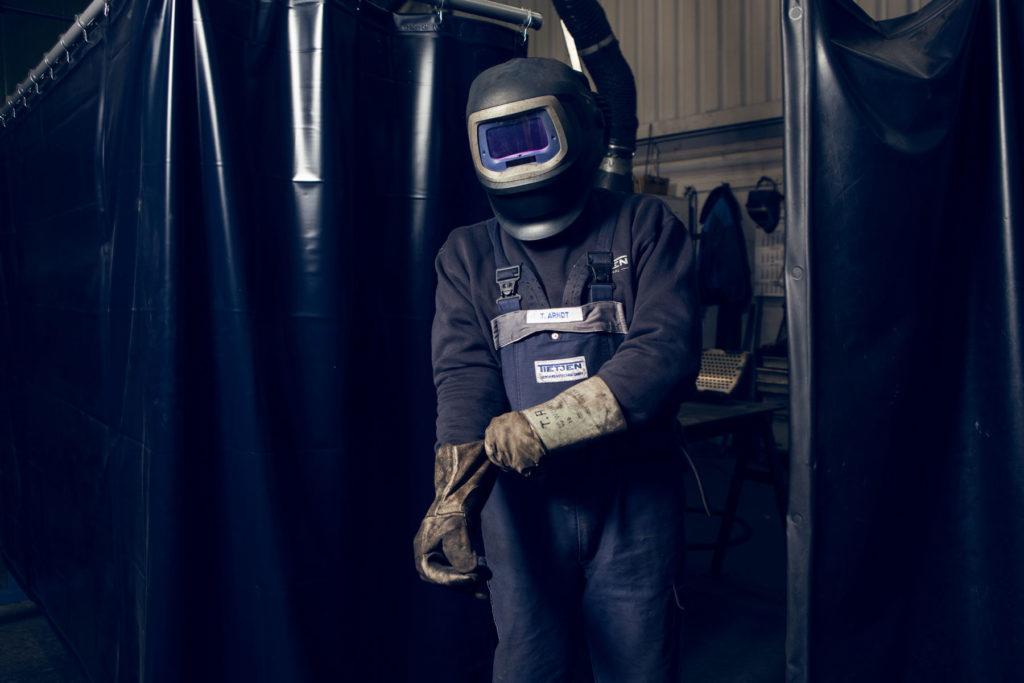 Portrait Arbeiter Metallbau II