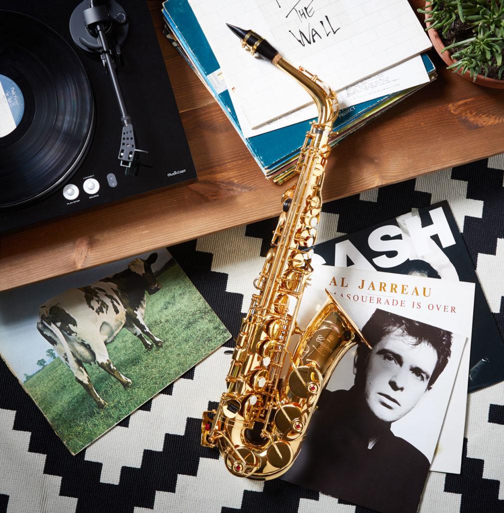 Social Media Fotografie Yamaha Instrumente I Saxophon II