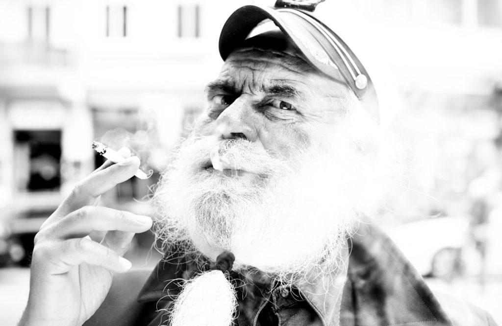 Street Portrait Angelo Kapitaen