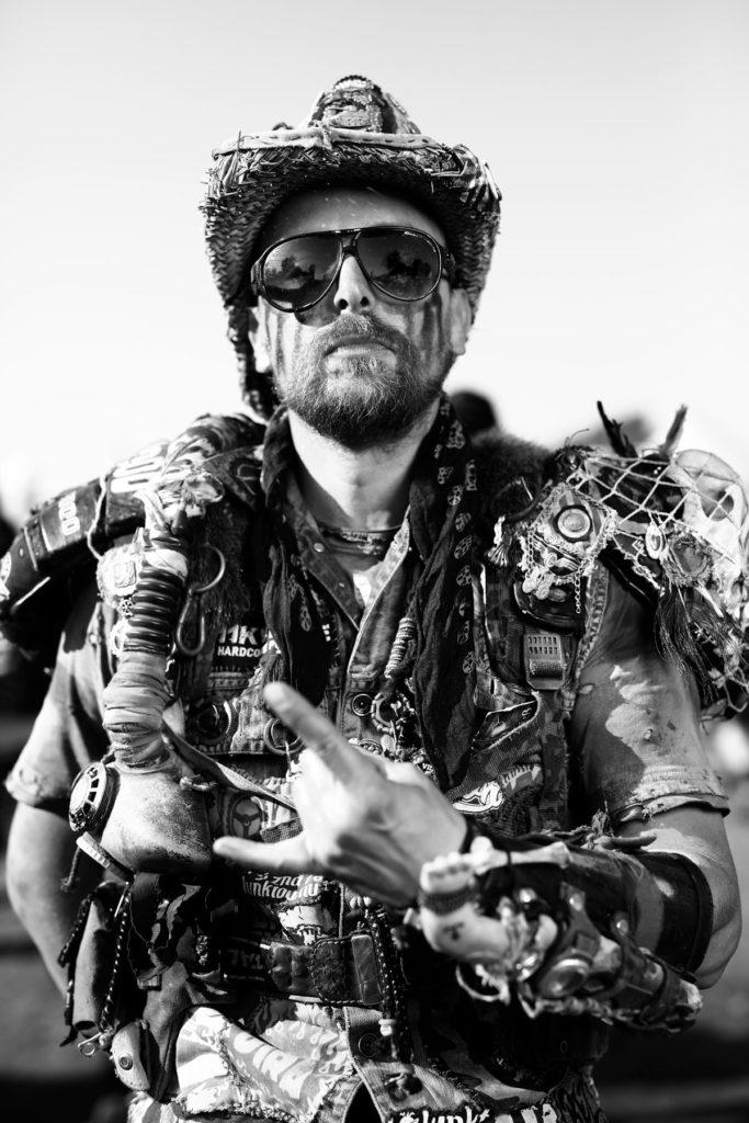 Wacken Portrait Wasteland Warrior Mann Portrait