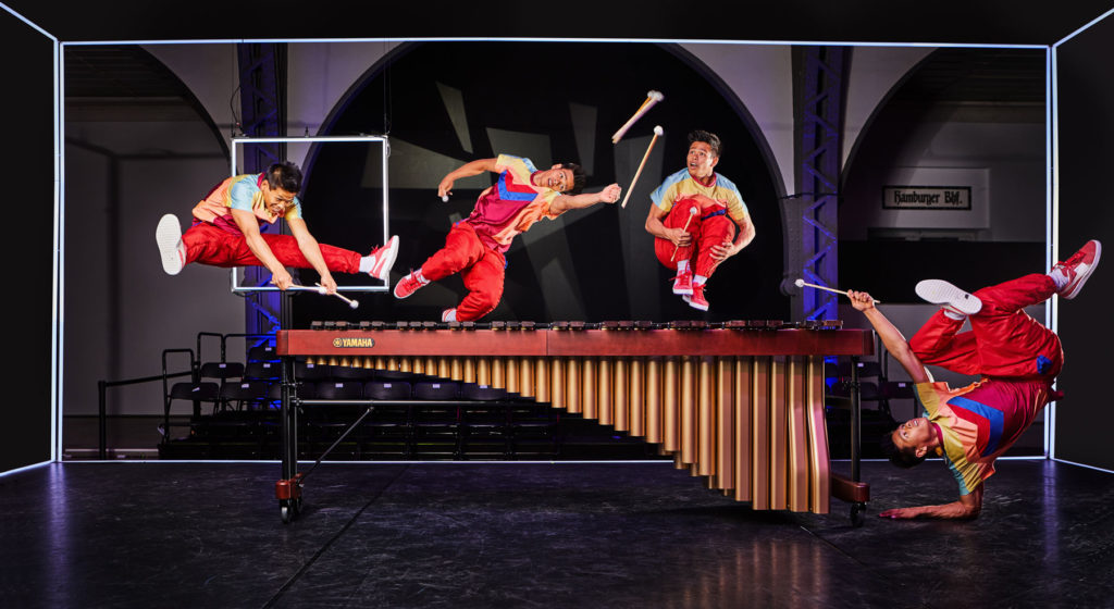 Yamaha Flying Steps Kampagne Kooperation Tanz I