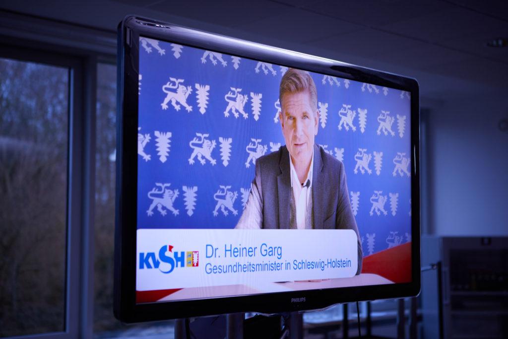 Livestream Anbieter Medienkapitän KVSH Vorstandsdialog Dr.Heiner Garg