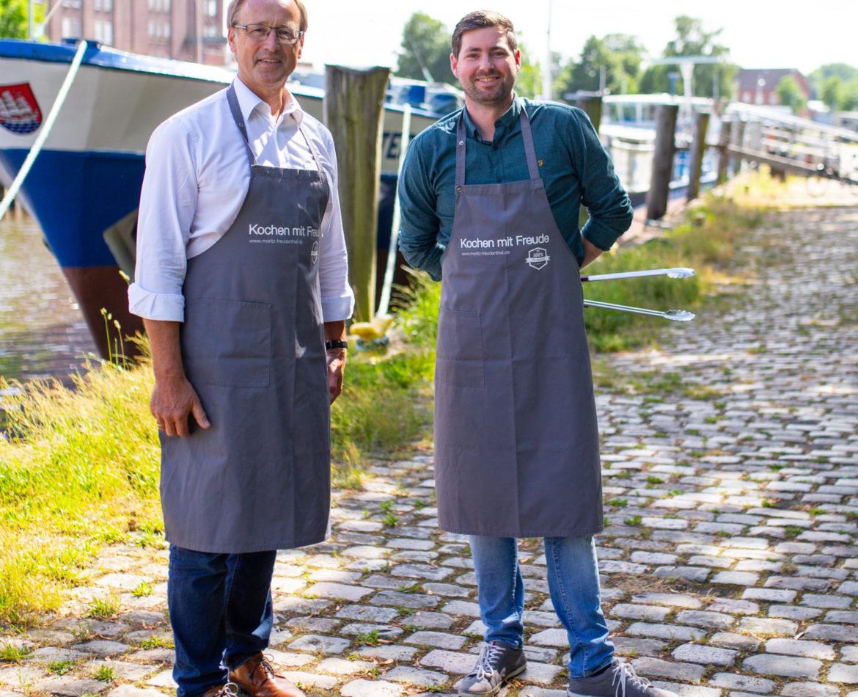 »Bürgermeister meets Burgermeister«: Volker Hatje mit Moritz Freudenthal im Livestream bei »Wir sind Elmshorn«