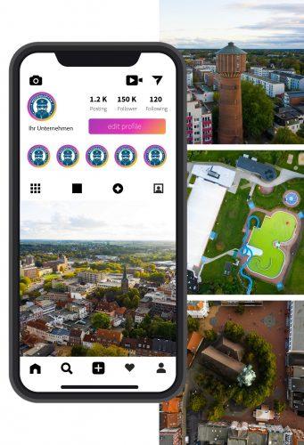 Drohnenvideos - Drohnenfotos - Social Media Flatrate
