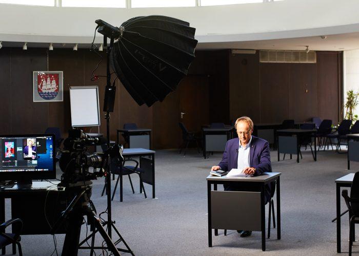 Volker Hatje Wir sind Elmshorn Medienkapitän Livestream